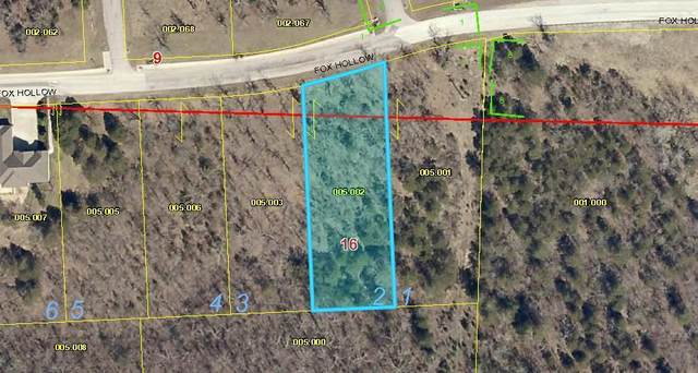 Lot 2 Fox Hollow Road, Branson, MO 65616 (MLS #60182685) :: The Real Estate Riders