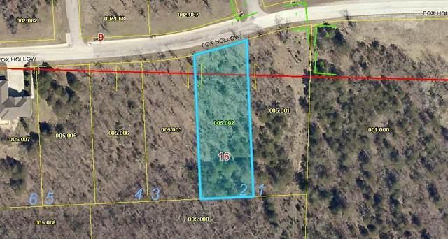 Lot 2 Fox Hollow Road, Branson, MO 65616 (MLS #60182685) :: Winans - Lee Team | Keller Williams Tri-Lakes