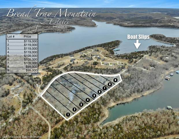 Lot 3 Bread Tray Mountain Estates, Lampe, MO 65681 (MLS #60183109) :: Clay & Clay Real Estate Team