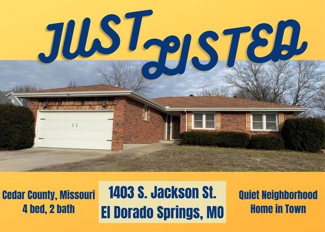 1403 S Jackson Street, El Dorado Springs, MO 64744 (MLS #60184116) :: The Real Estate Riders