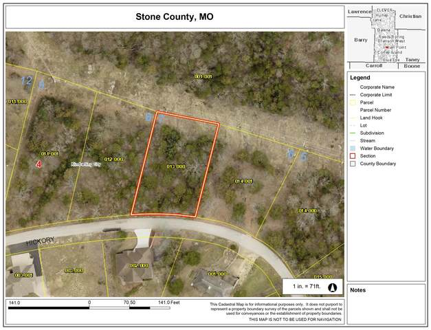 Lot 7 Hickory Drive, Kimberling City, MO 65686 (MLS #60187607) :: Evan's Group LLC