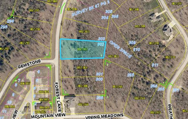 Lot 302 Forest Lake, Branson West, MO 65737 (MLS #60191299) :: Lakeland Realty, Inc.
