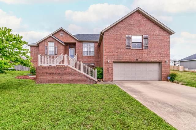 834 S Black Sands, Nixa, MO 65714 (MLS #60195940) :: Clay & Clay Real Estate Team