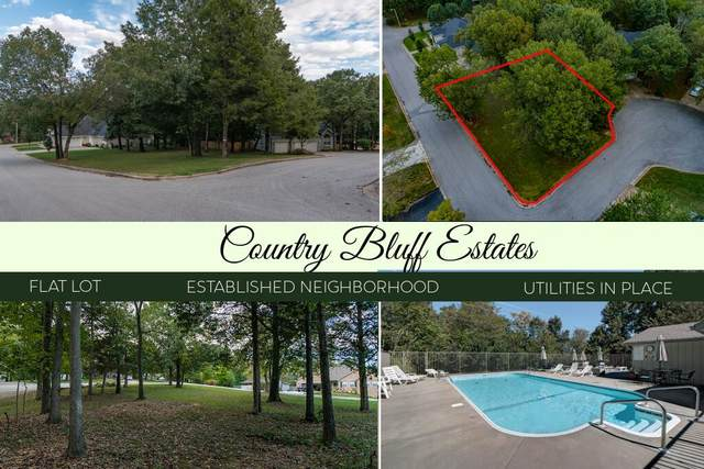 Lot 21 Country Bluff Estates, Branson, MO 65616 (MLS #60202693) :: Sue Carter Real Estate Group