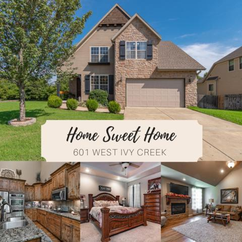 601 W Ivy Creek Drive, Ozark, MO 65721 (MLS #60118337) :: Weichert, REALTORS - Good Life