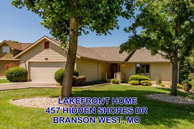457 Hidden Shores Drive, Branson West, MO 65737 (MLS #60142248) :: Weichert, REALTORS - Good Life