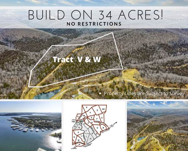Tract W & V, Branson West, MO 65737 (MLS #60155645) :: Team Real Estate - Springfield