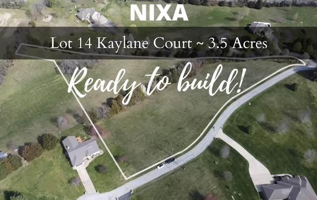 Lot 14 Kaylane Court, Nixa, MO 65714 (MLS #60187037) :: Clay & Clay Real Estate Team