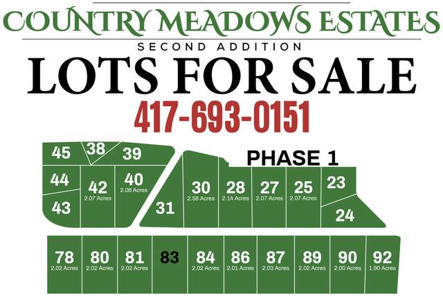 Tbd Raspberry Rd Lot 84, Highlandville, MO 65669 (MLS #60163124) :: Evan's Group LLC