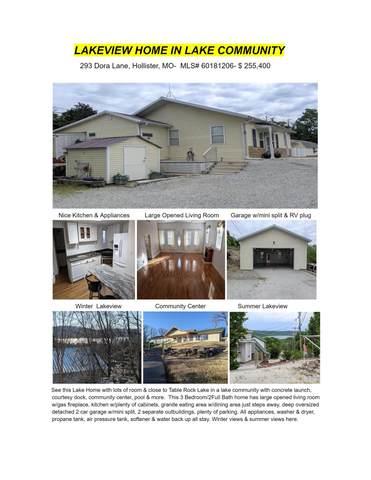 293 Dora Lane, Hollister, MO 65672 (MLS #60181206) :: Lakeland Realty, Inc.