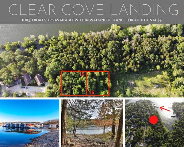 15 & 16 Clear Cove Landing, Reeds Spring, MO 65737 (MLS #60151545) :: Winans - Lee Team | Keller Williams Tri-Lakes
