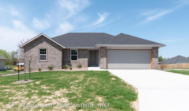 237 Maplewood Drive, Highlandville, MO 65669 (MLS #60091363) :: Team Real Estate - Springfield