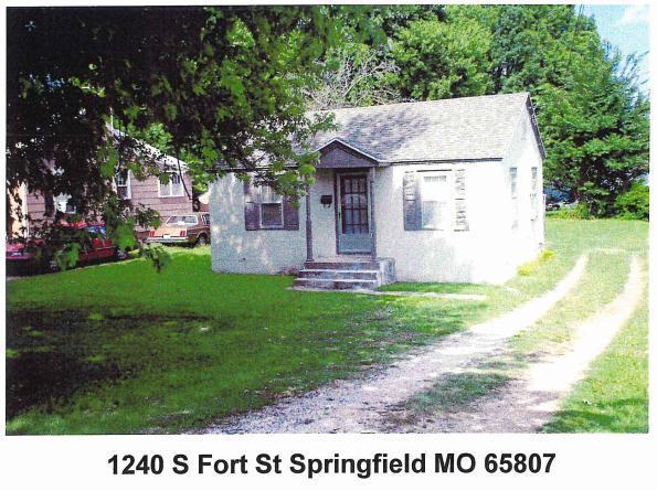 1240 S Fort Avenue, Springfield, MO 65807 (MLS #60099760) :: Greater Springfield, REALTORS