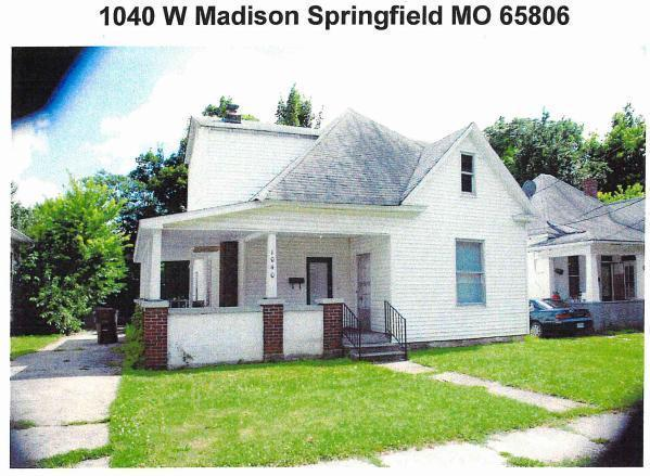 1040 W Madison Street, Springfield, MO 65806 (MLS #60104191) :: Good Life Realty of Missouri