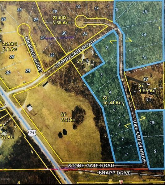 Lot 3 Hillcrest Drive, Joplin, MO 64804 (MLS #60131975) :: Weichert, REALTORS - Good Life