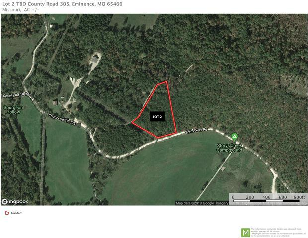 Lot 2 Tbd County Road 305, Eminence, MO 65466 (MLS #60136628) :: Sue Carter Real Estate Group