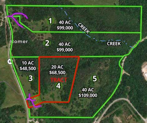 11532 Mo-86 (Tract 4), Blue Eye, MO 65611 (MLS #60150003) :: Sue Carter Real Estate Group