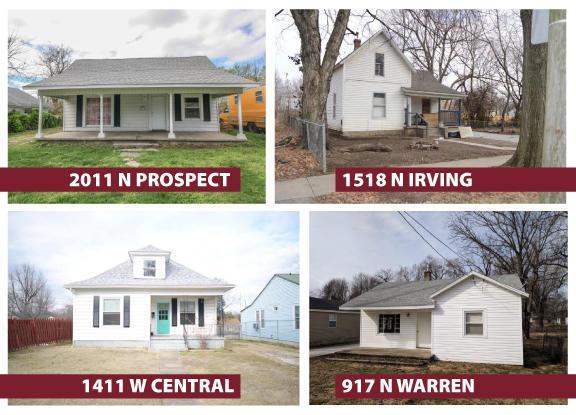 1411 W Central Street, Springfield, MO 65802 (MLS #60103532) :: Greater Springfield, REALTORS