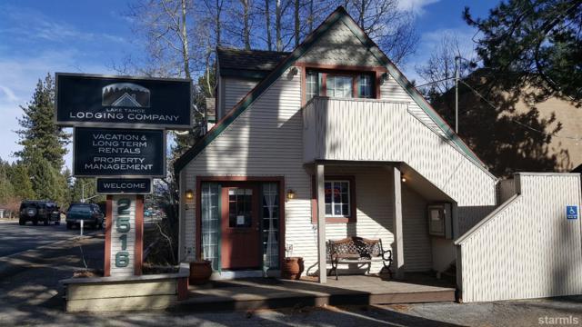 2516 Lake Tahoe Boulevard, South Lake Tahoe, CA 96150 (MLS #128517) :: Sierra Sotheby's International Realty