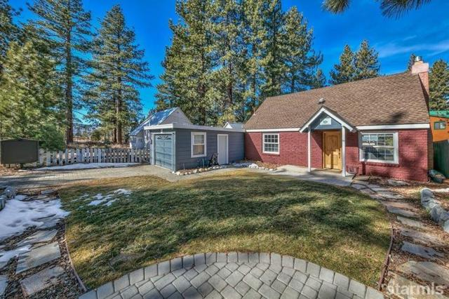 3167 Bellevue Avenue, South Lake Tahoe, CA 96150 (MLS #128742) :: Sierra Sotheby's International Realty