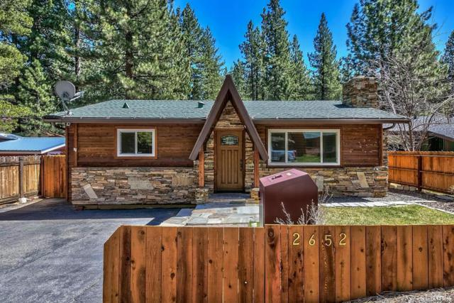 2652 Kubel Avenue, South Lake Tahoe, CA 96150 (MLS #129102) :: Sierra Sotheby's International Realty