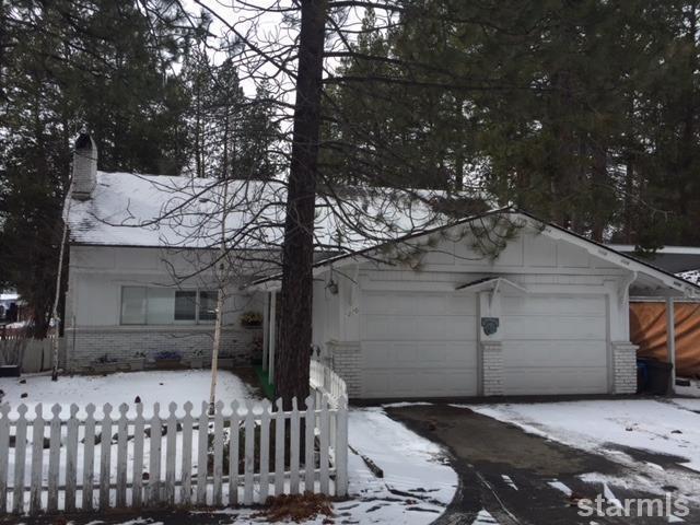 1260 Glenwood Way, South Lake Tahoe, CA 96150 (MLS #128780) :: Sierra Sotheby's International Realty