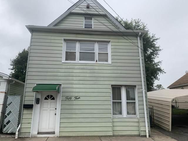 54 Fletcher Street, Staten Island, NY 10305 (MLS #1140660) :: Laurie Savino Realtor