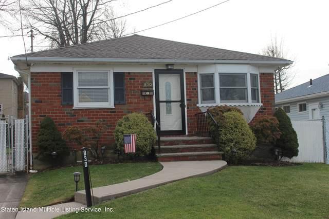 830 Lamont Avenue, Staten Island, NY 10309 (MLS #1143164) :: Team Pagano