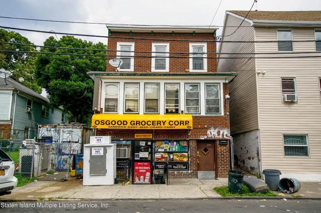 137 Osgood Avenue, Staten Island, NY 10304 (MLS #1145681) :: Team Gio | RE/MAX