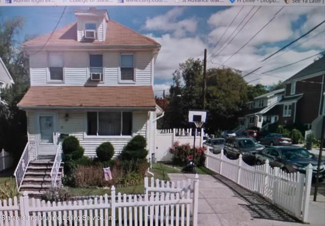 31 Melrose Avenue, Staten Island, NY 10301 (MLS #1145919) :: Team Gio | RE/MAX