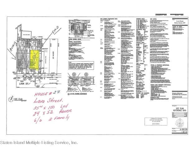 27 Lava Street, Staten Island, NY 10305 (MLS #1147960) :: Team Gio | RE/MAX