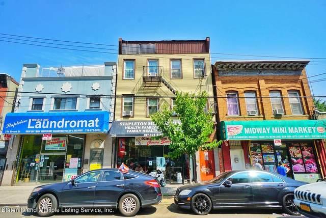 209 Broad Street, Staten Island, NY 10304 (MLS #1148016) :: Team Gio   RE/MAX