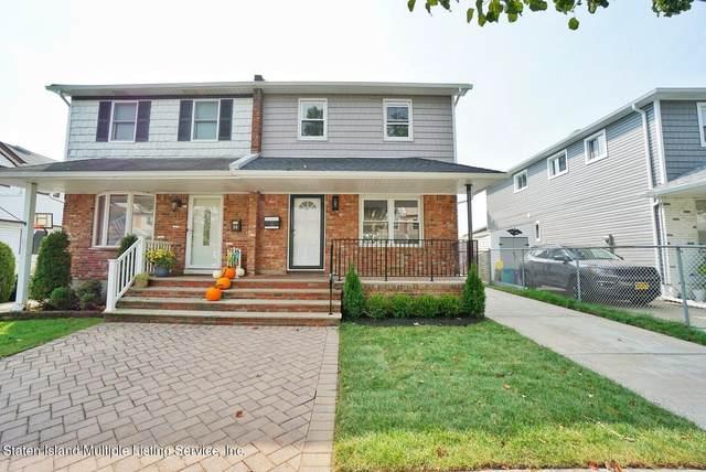 16 Berry Avenue W, Staten Island, NY 10312 (MLS #1149305) :: Team Pagano
