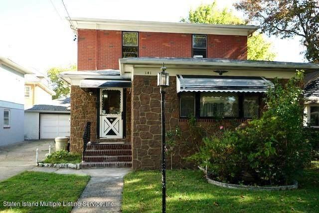 141 Greeley Avenue, Staten Island, NY 10306 (MLS #1141542) :: Team Gio   RE/MAX