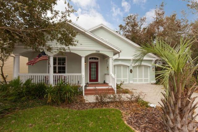 756 Tides End Dr, St Augustine Beach, FL 32080 (MLS #173648) :: Florida Homes Realty & Mortgage