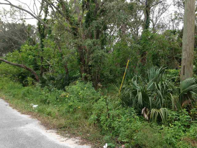 0 Webb Street (Lot 11) Lot 11, St Augustine, FL 32084 (MLS #174773) :: Tyree Tobler   RE/MAX Leading Edge