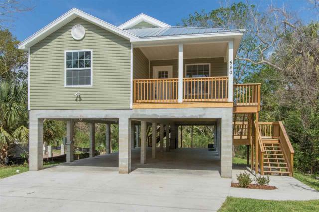 540 Live Oak St, St Augustine, FL 32084 (MLS #177172) :: St. Augustine Realty