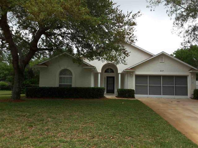 647 Aleida, St Augustine, FL 32086 (MLS #178411) :: Florida Homes Realty & Mortgage
