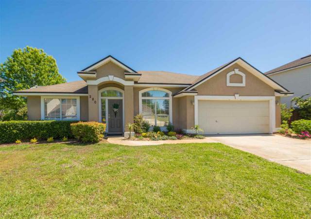280 Whisper Ridge Dr, St Augustine, FL 32092 (MLS #178427) :: Florida Homes Realty & Mortgage