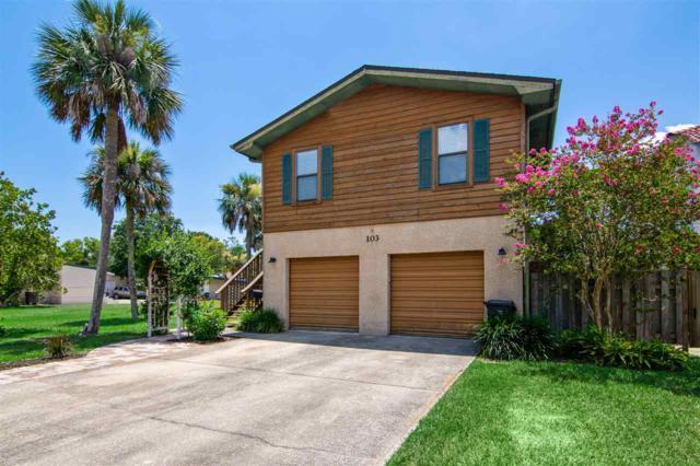 103 Arpieka Ave, St Augustine Beach, FL 32080 (MLS #180365) :: Pepine Realty
