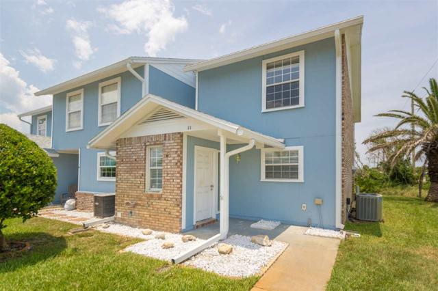 7145 A1a South #11, St Augustine Beach, FL 32080 (MLS #180466) :: Memory Hopkins Real Estate