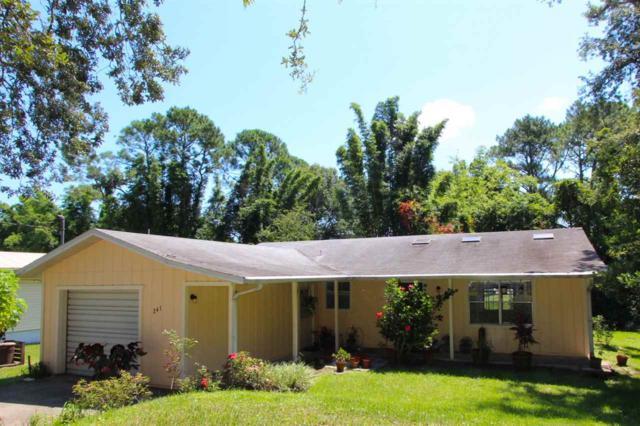 241 Dartmouth Rd, St Augustine, FL 32086 (MLS #180861) :: St. Augustine Realty