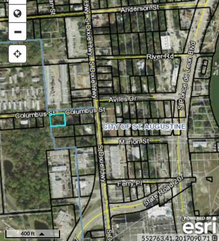 221 Columbus Street, St Augustine, FL 32084 (MLS #181998) :: St. Augustine Realty