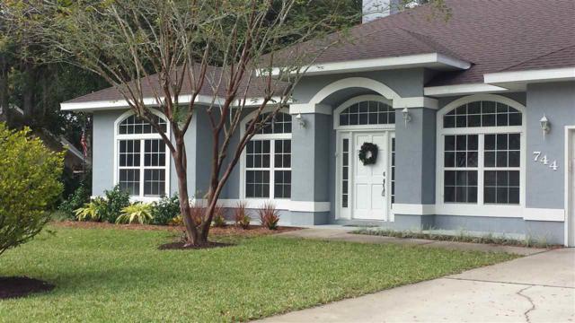 744 Charmwood, St Augustine, FL 32086 (MLS #183446) :: Memory Hopkins Real Estate