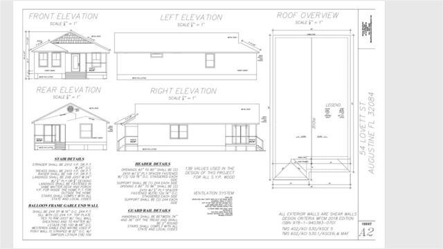 54 Lovett Street, St Augustine, FL 32084 (MLS #184077) :: Ancient City Real Estate