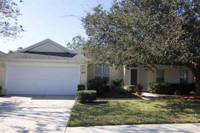 472 San Nicolas Way, St Augustine, FL 32080 (MLS #184130) :: Memory Hopkins Real Estate