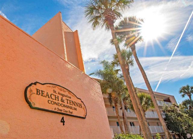 4 Ocean Trace Rd #115 #115, St Augustine Beach, FL 32080 (MLS #184167) :: Noah Bailey Real Estate Group