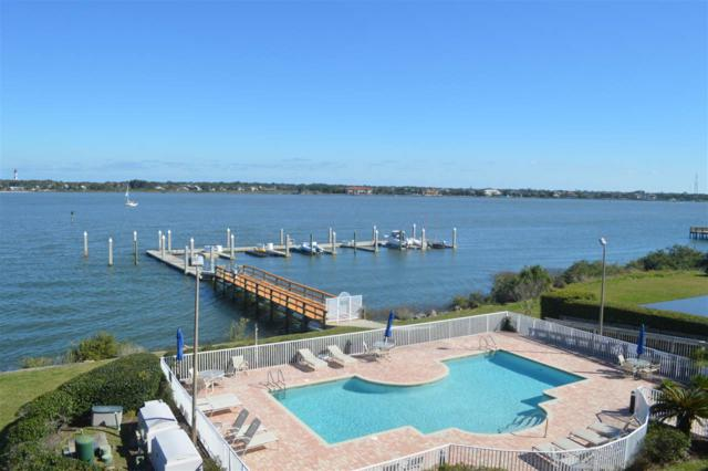 157 Marine Unit 303 & Boat Slip, St Augustine, FL 32084 (MLS #184675) :: Tyree Tobler | RE/MAX Leading Edge
