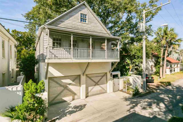 52 Marine Street, St Augustine, FL 32084 (MLS #185060) :: Tyree Tobler | RE/MAX Leading Edge