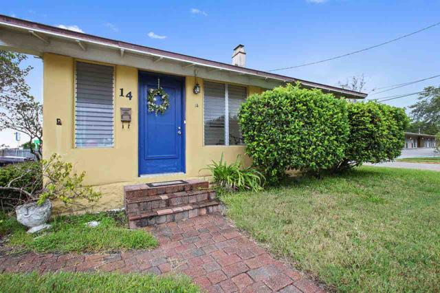 14 Grant Street, St Augustine, FL 32084 (MLS #185727) :: Florida Homes Realty & Mortgage